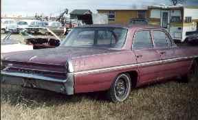 General Motors Cars >> 62 pontiac laurentian 4dr 244