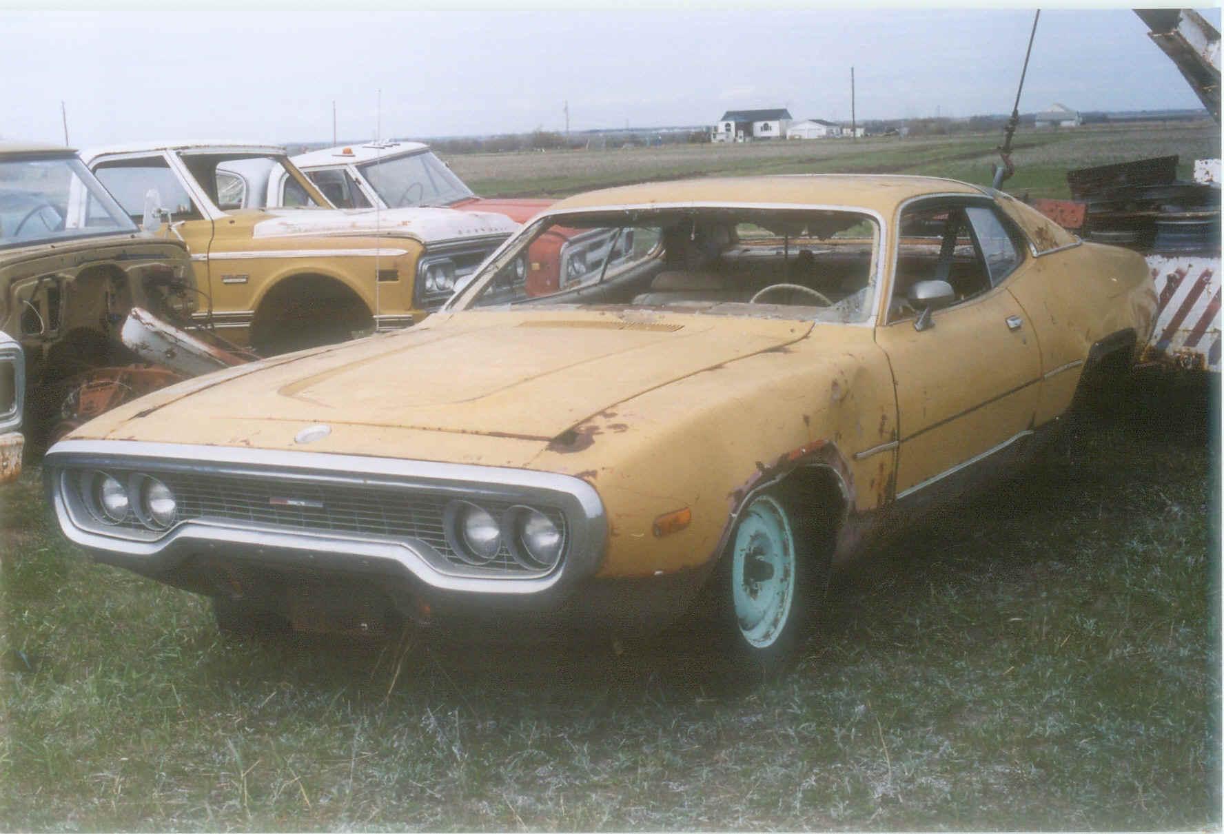 Ref#360 1972 Satellite Sebring