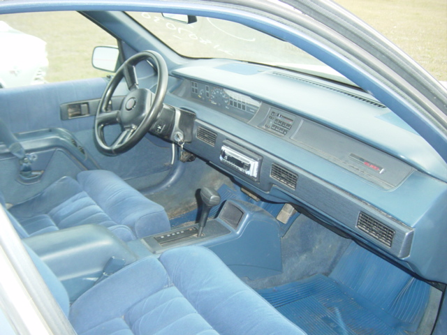 Chevy 3 3 >> 1990 Chevy Lumina Euro 4Dr Sedan Ref 499