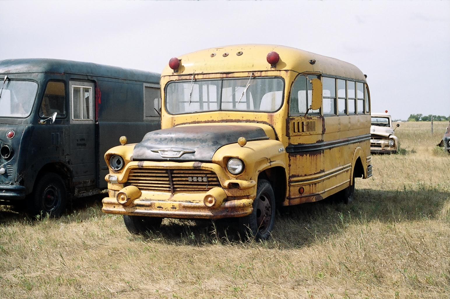 1957 Gmc School Bus 20 Pass Ref508 Car Fuse Box Short