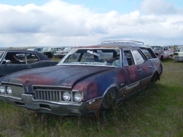 1968 Olds Vista Cruiser Wagon Ref571