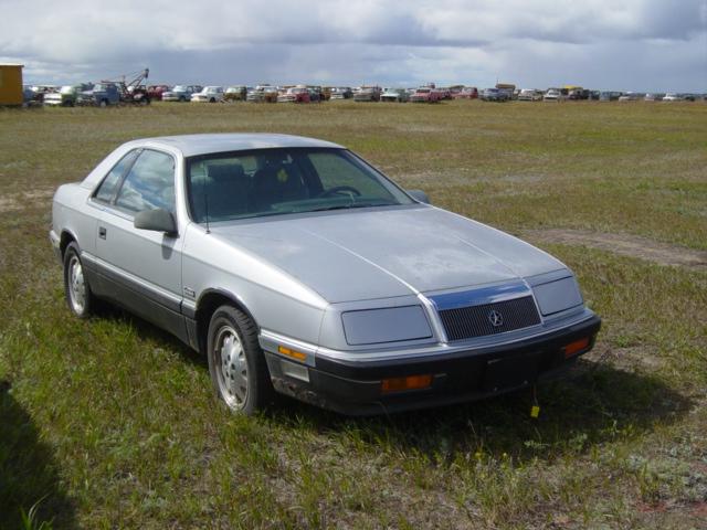 1987 Chrysler Lebaron 2dr Sedan Ref597