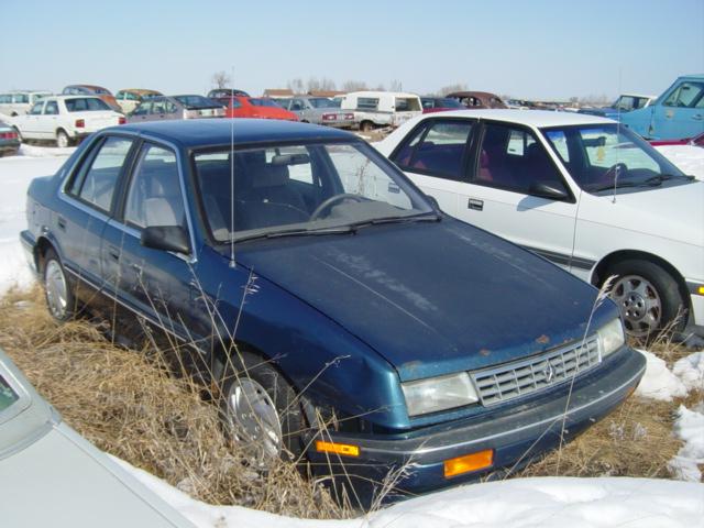 1990 Plymouth Sundance 4DR Ref636 P