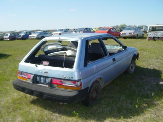 1988 Toyota Tercel 2dr Hb Ref645p